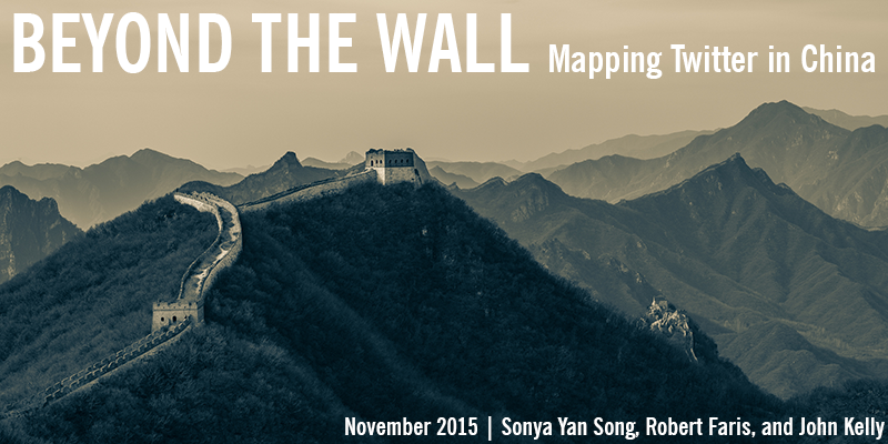 Beyond The Wall: Mapping Twitter in China