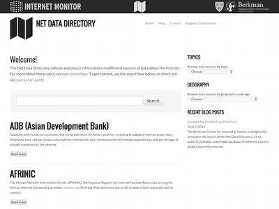 Net Data Directory